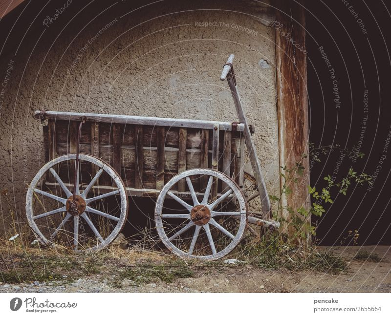 journey into the past House (Residential Structure) Wall (barrier) Wall (building) Door Trolley Old Historic Wood Wheel Farm Museum Open-air museum Cart Past