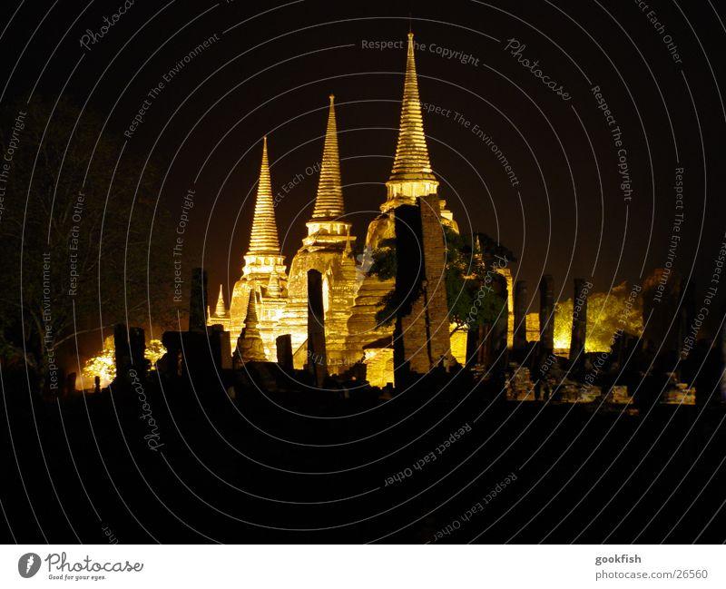 Temple_2 Evening 3 Thailand Light Los Angeles ayuttaya Radiation