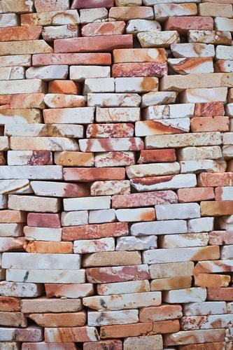 wall Wall (building) Wall (barrier) Stone Stone wall Orange Building stone Built Block Bricklayer The Wall daytime Old Derelict Closed Built-in Brick wall