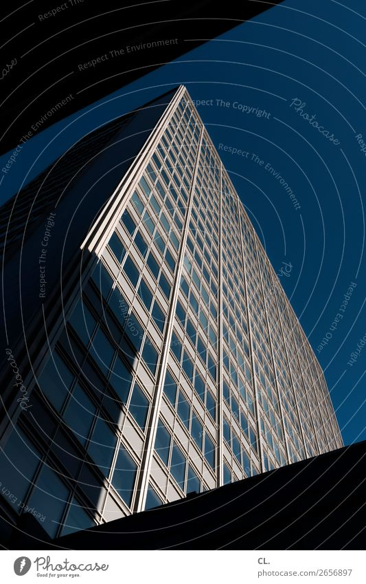 Town Window Dark Architecture Business Building Facade Office High-rise Success Perspective Tall Might Manmade structures Downtown Luxury