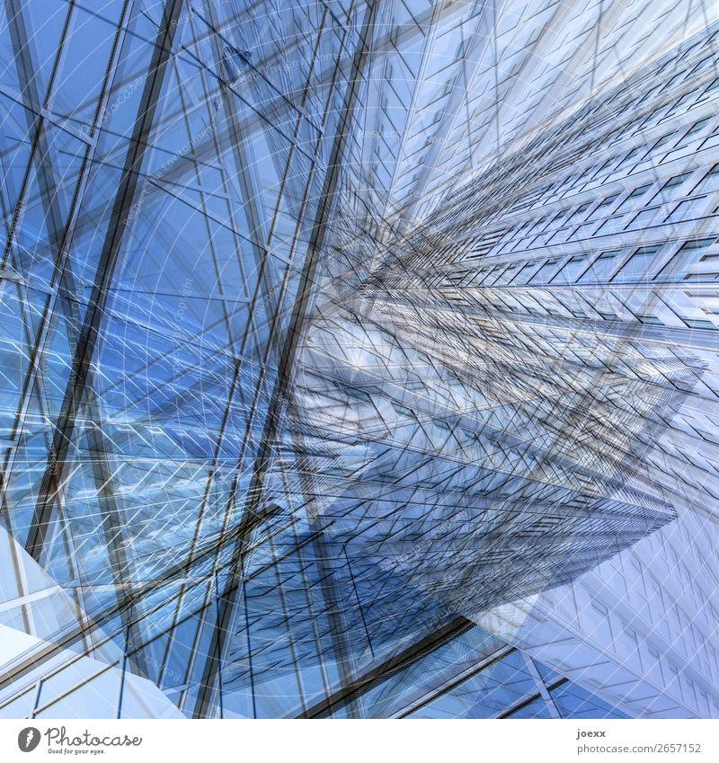 Art Design High-rise Future Double exposure Bizarre