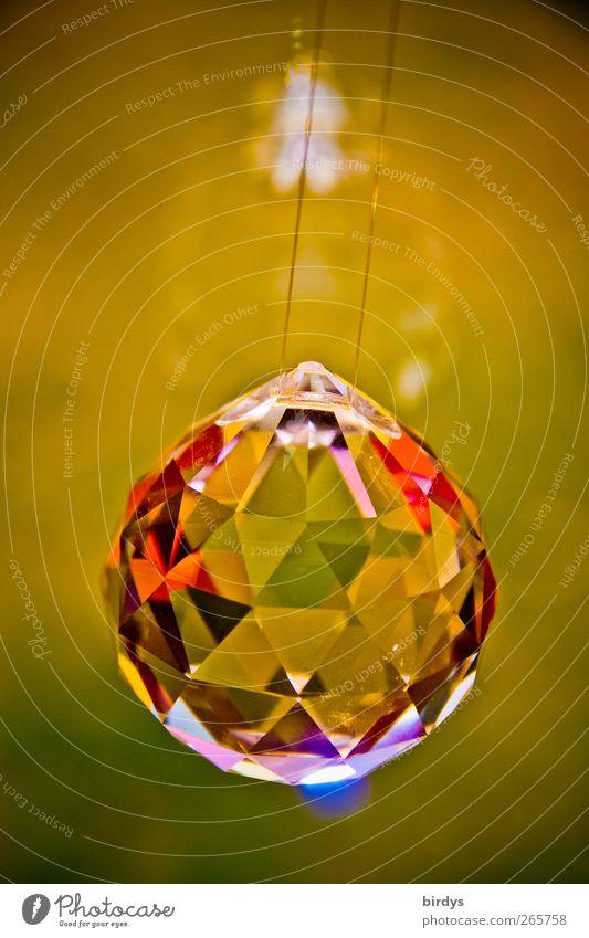 Blink...Lightning...Spark.... Elegant Design Decoration Crystal ball Glass Glittering Illuminate Esthetic Positive Kitsch Luxury Pure Multicoloured Refraction