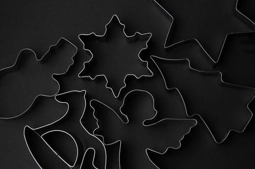 Black Secrets Christmas biscuit Cookie cookie cutter Lifestyle Elegant Style Design Harmonious Calm Meditation Decoration Kitchen Christmas & Advent Metal
