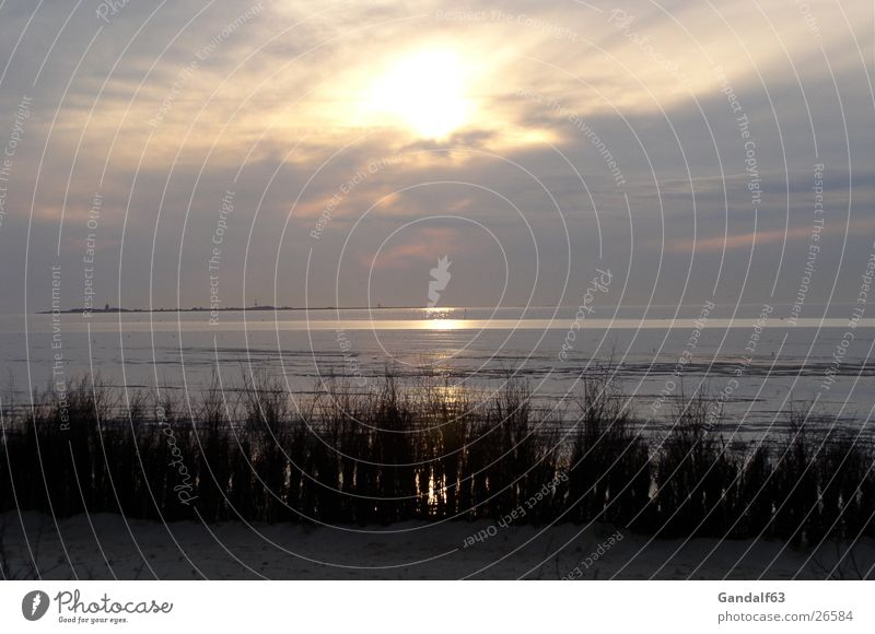 Cuxiland impressions 1 Beach Sunset Cuxhaven Romance Light Ocean Europe North Sea