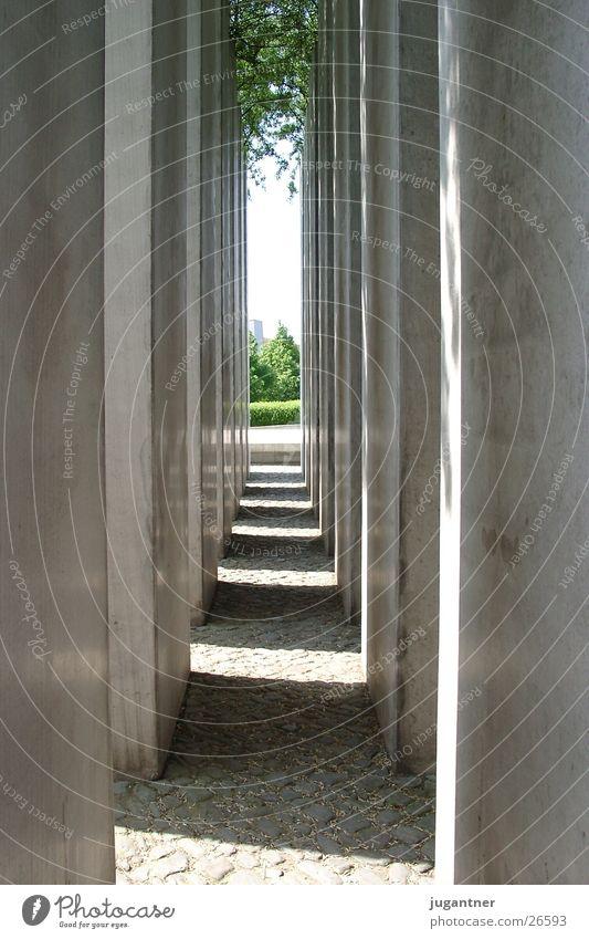 portico Avenue Architecture Column Light (Natural Phenomenon) cramping Corridor