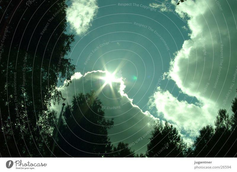 Sun Clouds Finland