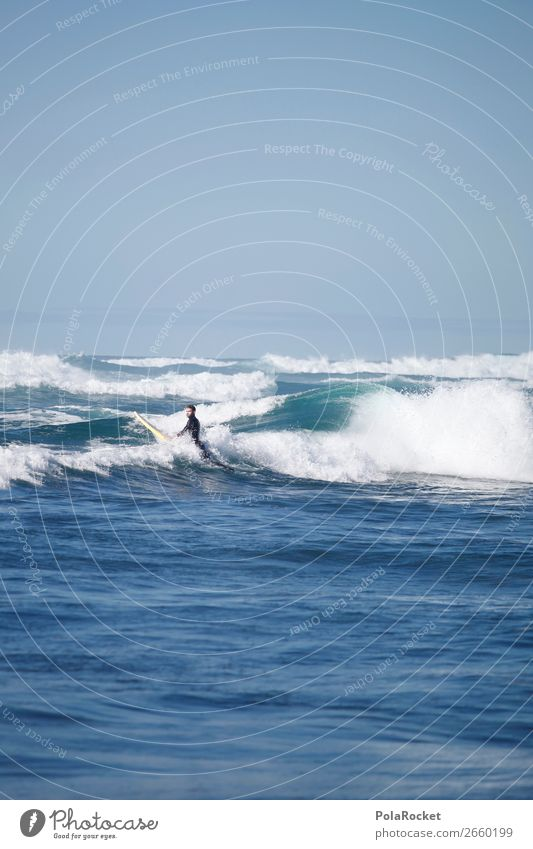 #AS# WaveMan 1 Human being Esthetic Surfing Surfer Surfboard Surf school Waves Swell Undulation Wavy line Aquatics Extreme sports Sports Athletic Water Ocean