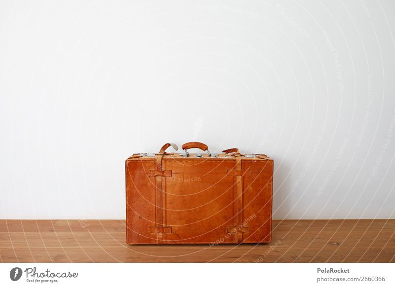 #AS# Take me with you ! Box Flying Suitcase Travel photography Perspire Luggage Ancient Nostalgia Leather Vintage Wanderlust Divide New start Crate Buckle Trunk