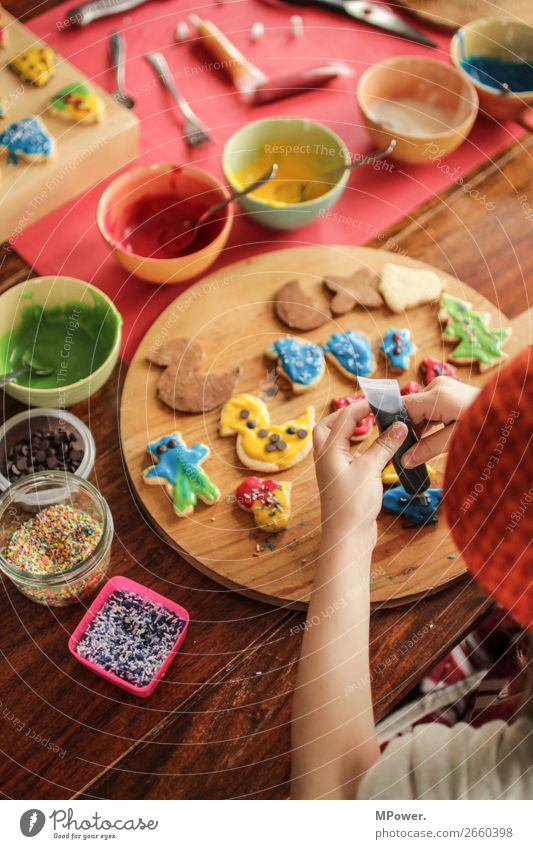 Child Hand Sweet Delicious Candy Baking Cookie Dough Handcrafts Embellish Christmas biscuit Baker
