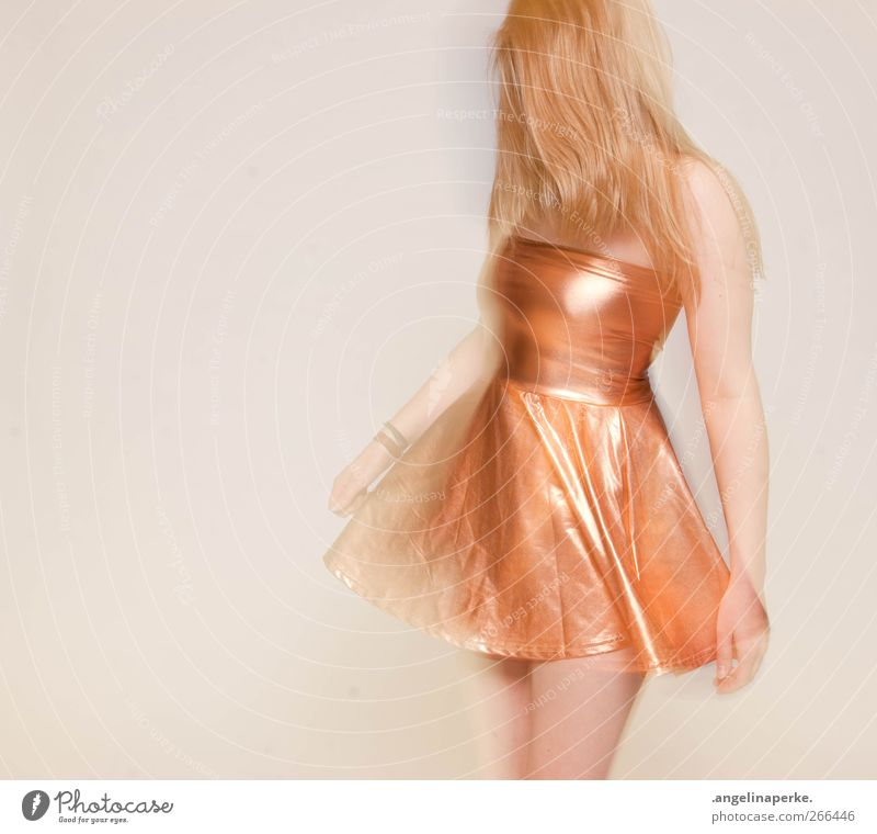 Movement Dance Blonde Gold Dress Clothing