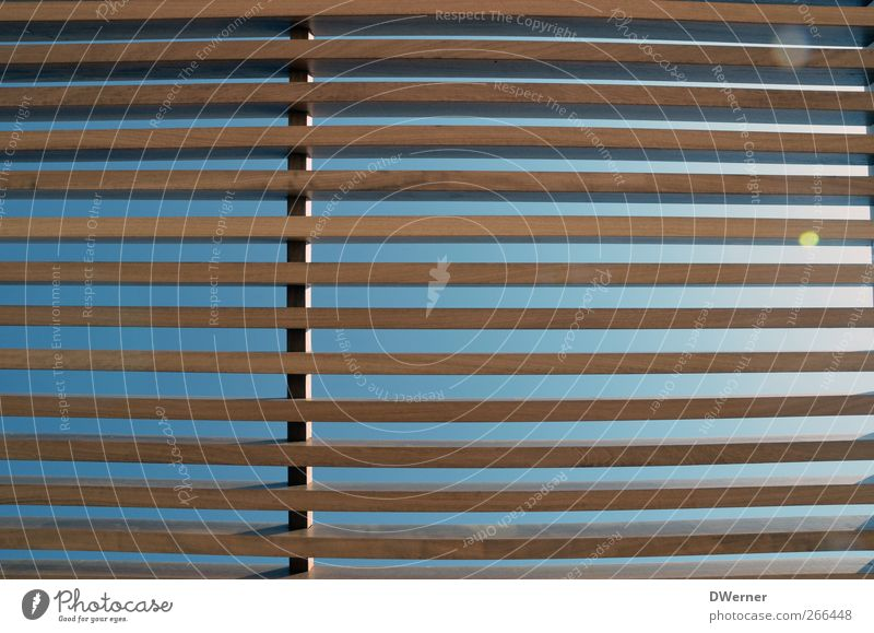 Sky Sun Summer Architecture Wood Line Horizon Brown Facade Design Illuminate Roof Infinity Manmade structures Long Thin