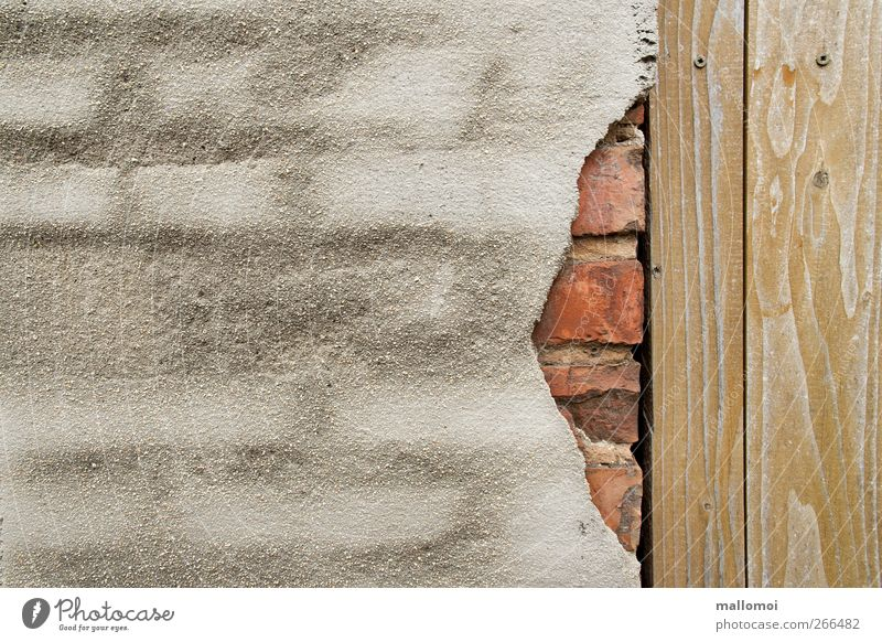 Old House (Residential Structure) Wall (building) Architecture Wood Gray Stone Wall (barrier) Building Brown Facade Exceptional Concrete Broken
