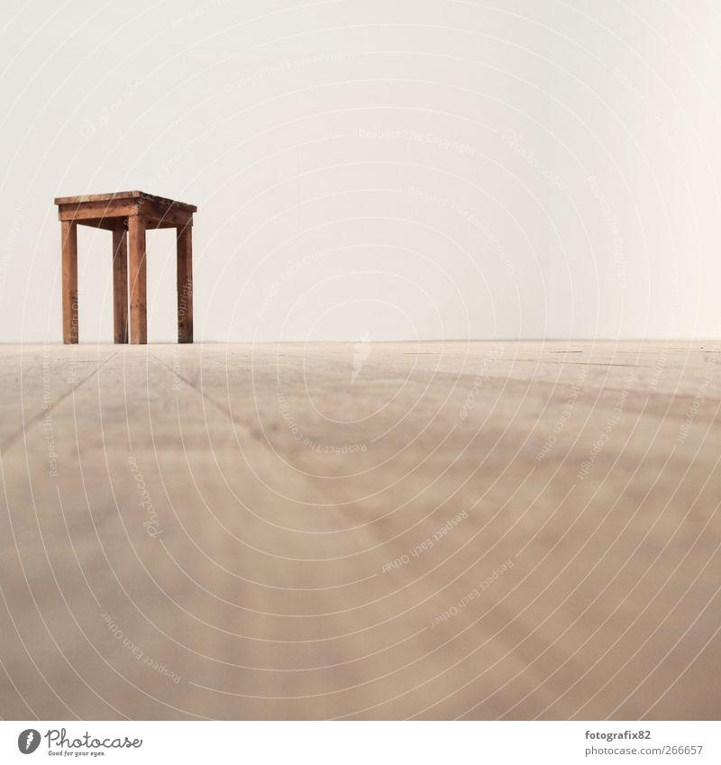 Loneliness Relaxation Horizon Interior design Sit Empty Floor covering Chair Individual Parquet floor Exhibition Work of art Surveillance Free space