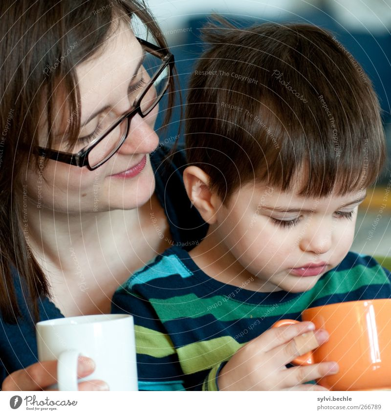 All of them? Drinking Hot drink Cup Healthy Human being Masculine Feminine Child Toddler Boy (child) Young woman Youth (Young adults) Parents Adults