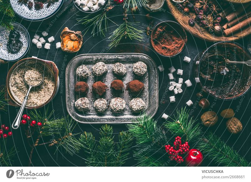 Healthy Eating Christmas & Advent Winter Food Feasts & Celebrations Style Living or residing Design Nutrition Decoration Herbs and spices Candy Tradition