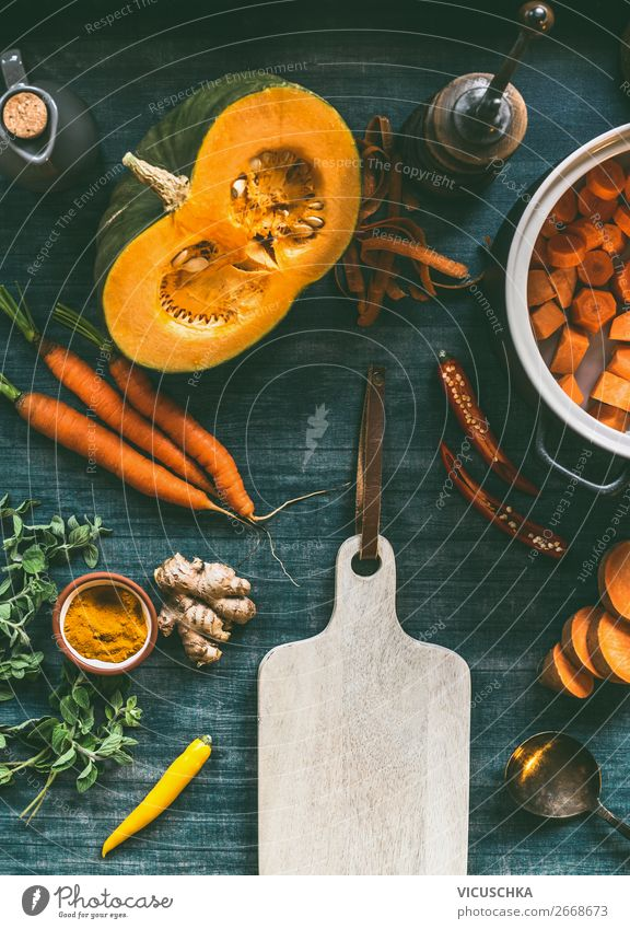 Autumn seasonal vegetarian cooking ingredients Food Vegetable Nutrition Lunch Banquet Organic produce Vegetarian diet Diet Crockery Pot Shopping Style