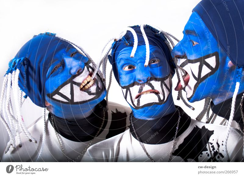 Straitjackets : Symphony II Style Joy Make-up Leisure and hobbies Entertainment Party Event Carnival Human being Masculine Young man Youth (Young adults) Man