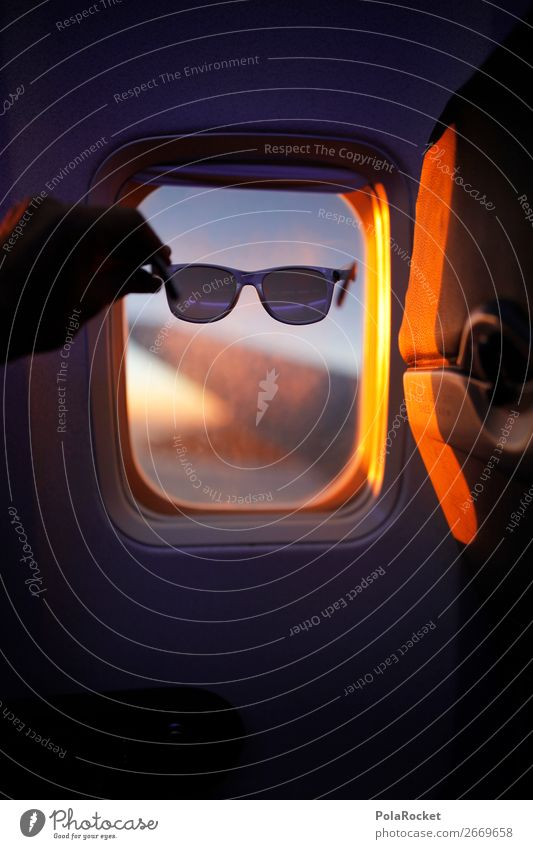 Vacation & Travel Travel photography Window Airplane window Flying Leisure and hobbies Aviation Esthetic Sunglasses Traveling Vacation photo Vacation mood