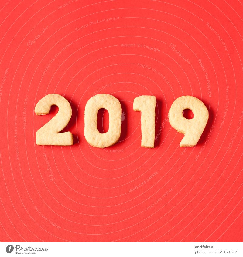 2019 will be red Dough Baked goods Cookie cut out cookies Nutrition To have a coffee Leisure and hobbies Baking Night life Entertainment Party Event