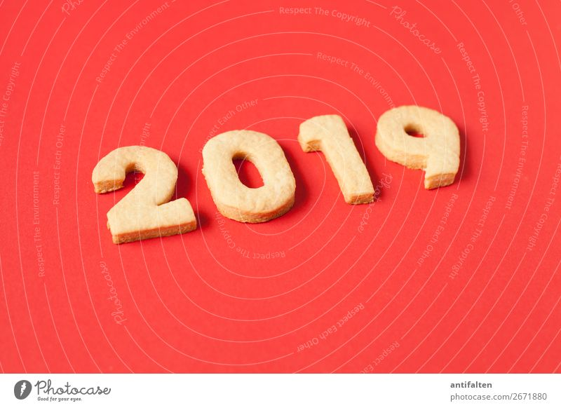 Advent season 2019 Dough Baked goods Cookie cut out cookies Nutrition Eating To have a coffee Leisure and hobbies Baking Digits and numbers Year date To enjoy