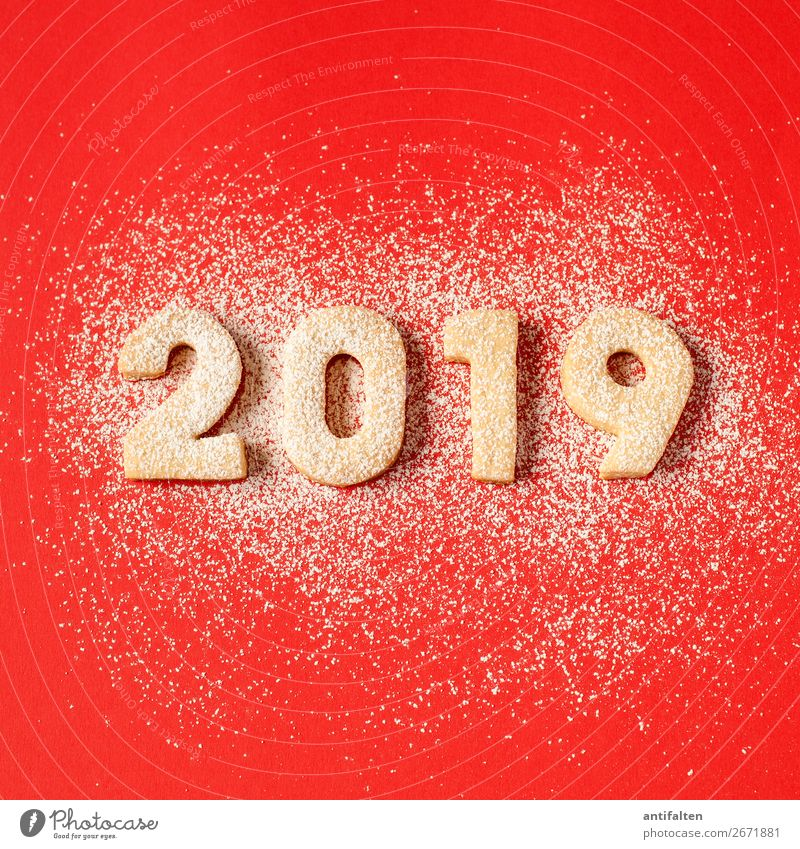 2019 it's red with snow Dough Baked goods Cookie cut out cookies Nutrition To have a coffee Leisure and hobbies Baking Feasts & Celebrations Eating