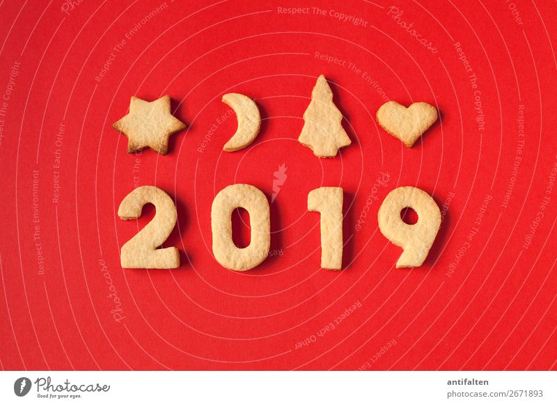 In 2019 we'll get everything baked! Dough Baked goods Cookie cut out cookies Nutrition Eating To have a coffee Leisure and hobbies Feasts & Celebrations