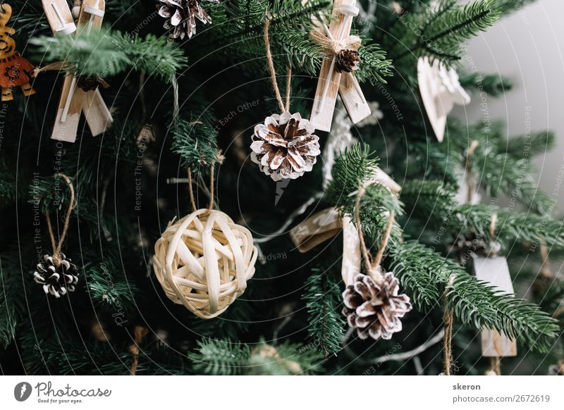 Christmas tree decorations close up Lifestyle Shopping Luxury Elegant Style Design Joy Leisure and hobbies Playing Living or residing Flat (apartment)