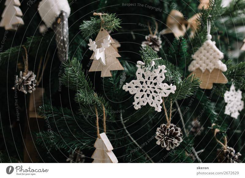 Christmas tree decorations close up Christmas & Advent Beautiful Joy Lifestyle Emotions Feasts & Celebrations Style Party Design Elegant Esthetic Shopping