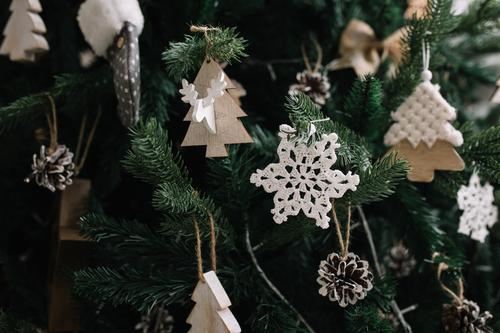 Christmas tree decorations close up Lifestyle Shopping Luxury Elegant Style Design Joy Night life Entertainment Party Event Feasts & Celebrations