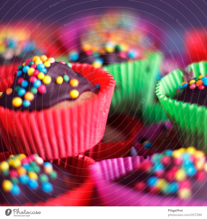 Beautiful Birthday Nutrition To enjoy Cooking & Baking Cake Chocolate Baked goods Dessert Muffin Jubilee Gateau Childrens birthsday Granules Food Dish