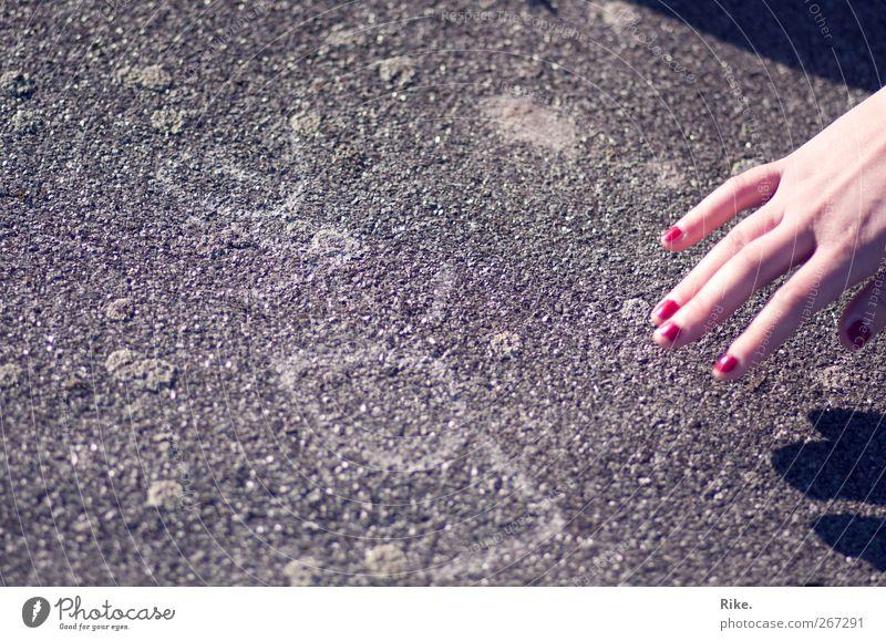 Human being Hand Beautiful Love Feminine Graffiti Emotions Stone Dream Art Fingers Lifestyle Romance Creativity Touch To hold on