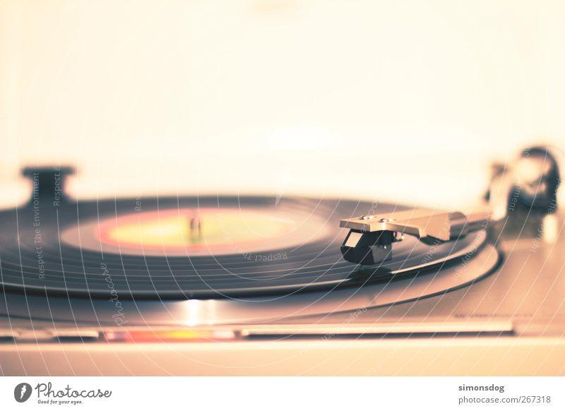 Old Music Lie Retro Rock music To enjoy Listening Club Rotate Disc jockey Record Pick-up head Night life Pop music Scratch Record player