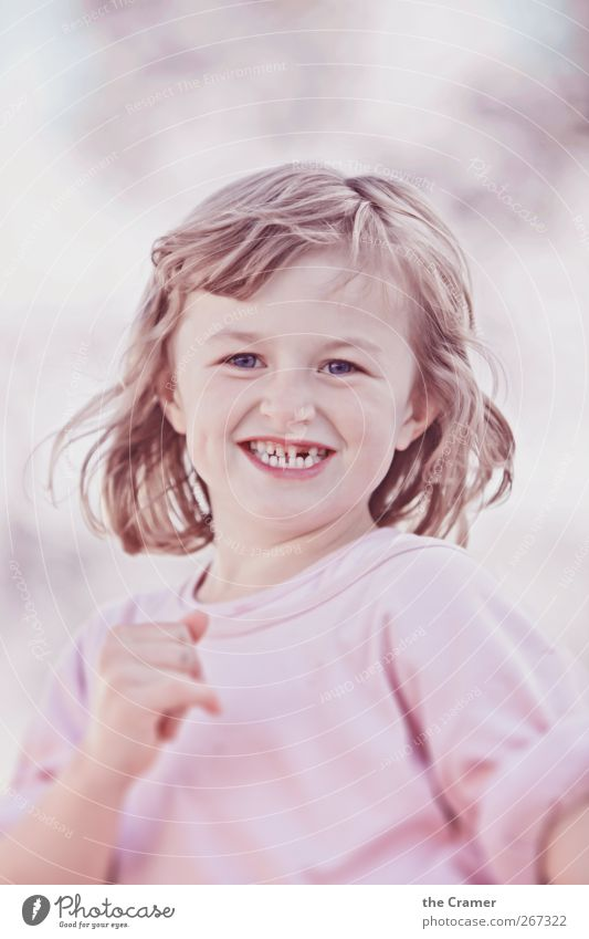 Human being Child Girl Joy Face Feminine Life Hair and hairstyles Happy Laughter Healthy Infancy Dance Walking Natural Free