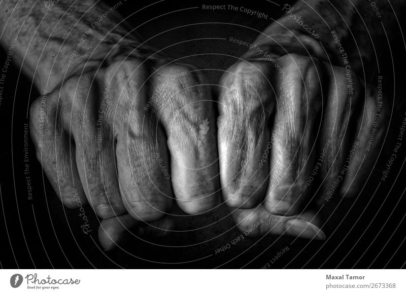 Woman's fists Human being Old Beautiful Hand Black Adults Natural Body Power Skin Arm Fingers Strong Aggression Conceptual design