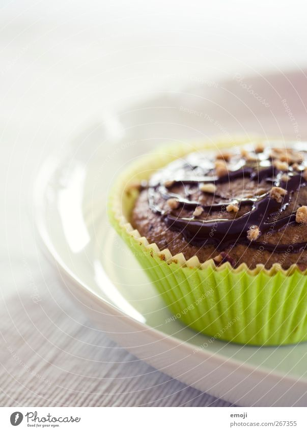 for the weekend Dough Baked goods Dessert Candy Chocolate Nutrition Finger food Plate Delicious Green Muffin Sweet Ornate Colour photo Interior shot Close-up