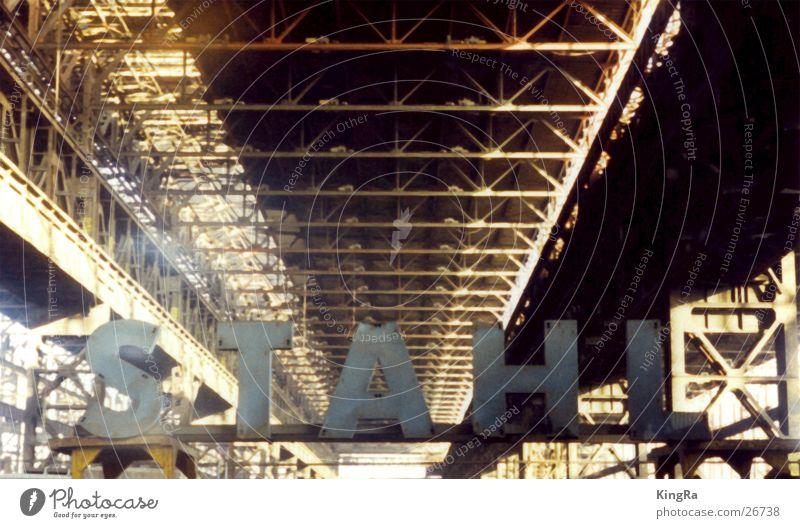 Industry Letters (alphabet) Steel Rust Warehouse Carrier Steel factory
