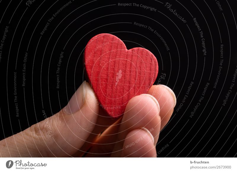 A heart to give away! Fingers Toys Wood Heart Select To hold on Dark Red Black Sympathy Friendship Love Infatuation Romance Belief Religion and faith