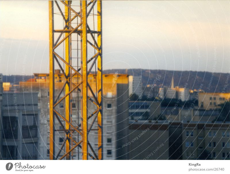 Sun City Building Industry Steel Crane Carrier