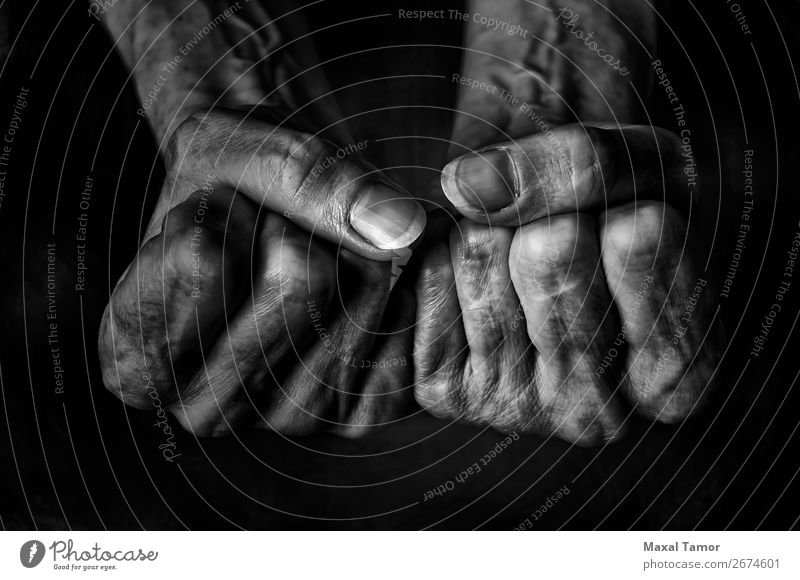 Woman's fists Human being Old Beautiful Hand Dark Black Adults Natural Body Power Skin Arm Fingers Strong Aggression