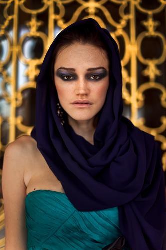 Lady Lifestyle Luxury Elegant Style Beautiful Cosmetics Make-up Human being Feminine Young woman Youth (Young adults) Woman Adults 1 Artist Topkapi serail