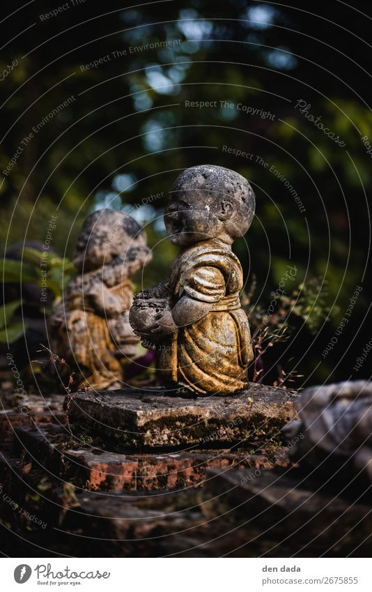 Old Joy Happy Art Garden Contentment Gold Esthetic Happiness Friendliness Tourist Attraction Sculpture Sympathy Attentive Monastery Buddhism