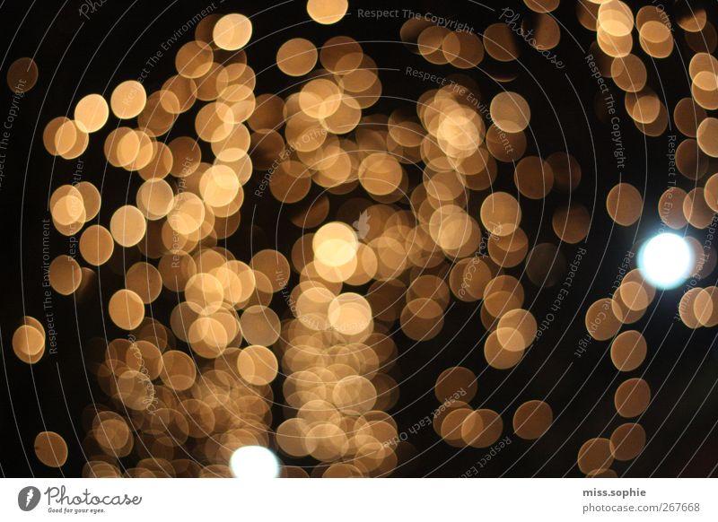 Black Yellow Horizon Gold Glittering Stars Illuminate Round Creativity Point Inspiration Visual spectacle