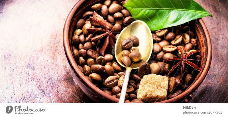 Coffee.Roasted coffee beans drink caffeine espresso brown seed dark cafe roasted aroma crop macro grain cup aromatic arabic taste arabica green vintage leaf