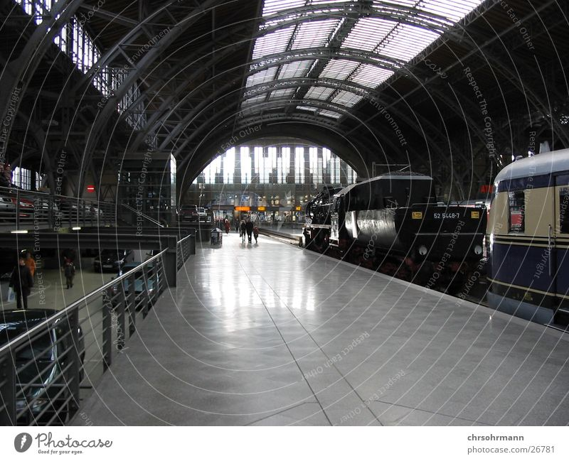Leipzig railway station Railroad Platform Architecture Train station Vacation & Travel