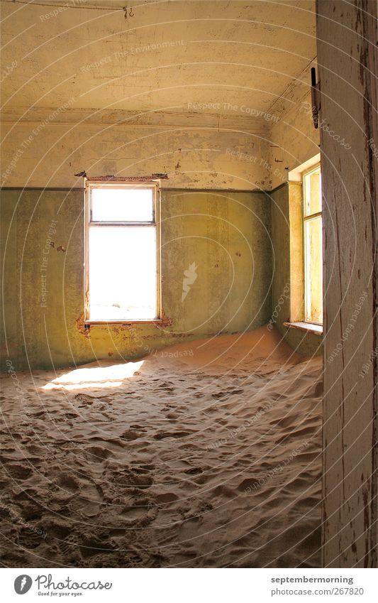 Old Sand Living or residing Broken Change Dry Ruin