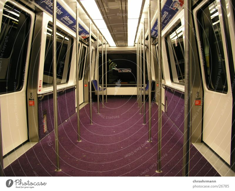 missed call Railroad Carriage Empty Night Tunnel Footwear Transport