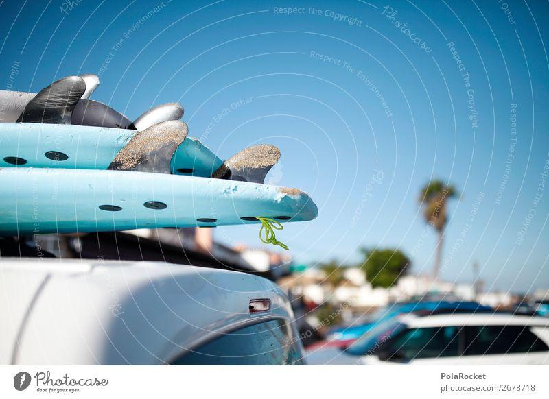 #AS# Coffee break Art Work of art Esthetic Surfing Surfer Surfboard Surf school Vacation & Travel Vacation mood Blue Summer Beach Trip Wanderlust Colour photo