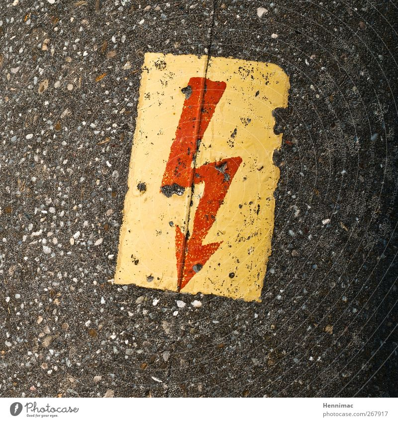 Red Yellow Movement Gray Stone Brown Fear Energy industry Concrete Speed Electricity Signage Threat Sign Arrow Anger