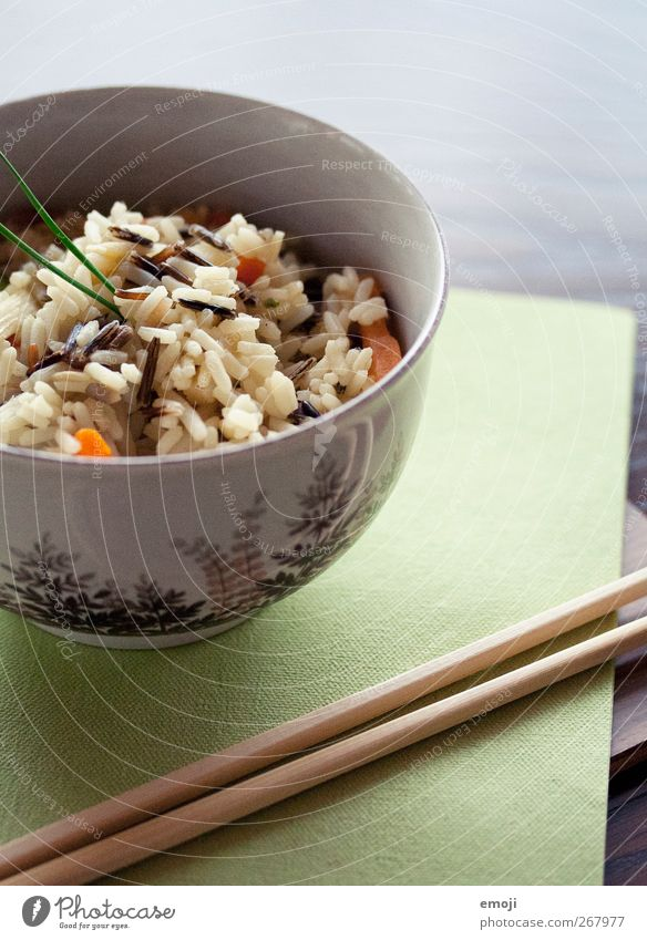 Fresh Nutrition Healthy Eating Vegetable Grain Dinner Diet Bowl Lunch Vegetarian diet Serviette Chopstick Asian Food