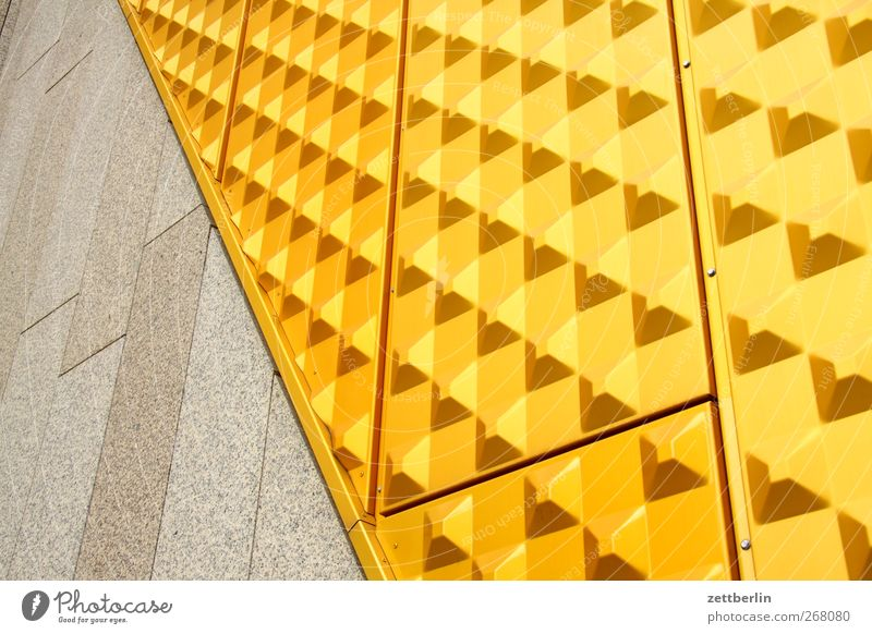 City House (Residential Structure) Yellow Wall (building) Architecture Building Wall (barrier) Facade Design Gold Manmade structures Good Landmark Monument